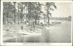 Bathing Beach at Soldier's Island