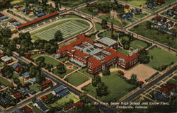 Air View, Bosse High School and Enlow Field