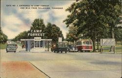 Gate No. 1, Entrance to Camp Forrest