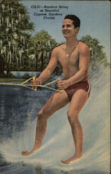 Barefoot Skiing at Beautiful Cypress Gardens