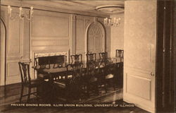 Private Dining rooms, Illini Union Building,University of Illinois