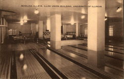 Bowling Alleys, Illini Union Building, University of Illinois