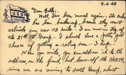 USO Letter From Soldier