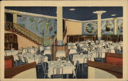 Dining Room of Restaurant