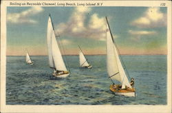Sailing on Reynolds Channel, Long Beach