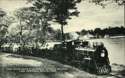 Lake Shore Route of the Famous Gillette Railroad, Lake Compounce