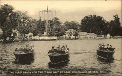 Fleet Ready for the Take-Off at Lake Compounce
