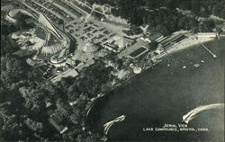 Aerial View of Lake Compounce