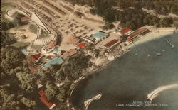 Aerial View, Lake Compounce