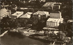 Aerial View of Campus, University of Wisconsin