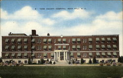 York County Hospital Postcard