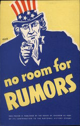No Room for Rumors - Uncle Sam