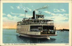 Governor Carr, the Newport-Jamestown R.I. Ferry Boat