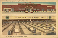 State O' Maine Bowling Center