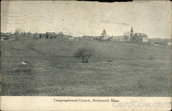 Congregational Church Richmond Massachusetts