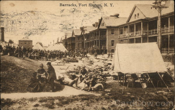 Barracks at Fort Slocum New Rochelle New York