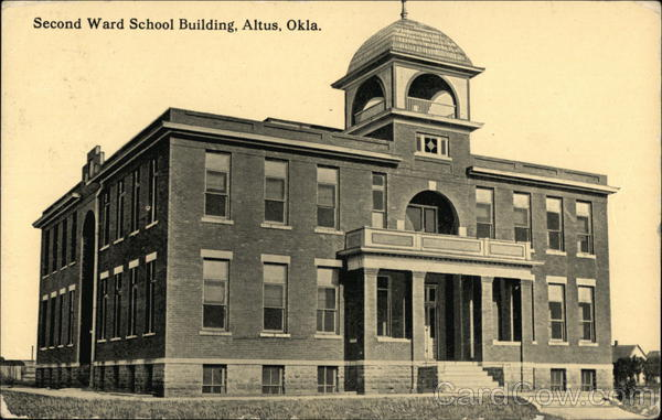Second Ward School Building Altus Oklahoma
