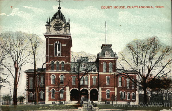 Court House Chattanooga Tennessee