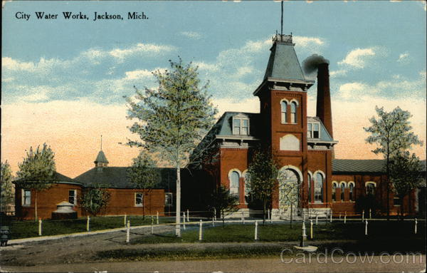 City Water Works Jackson Michigan