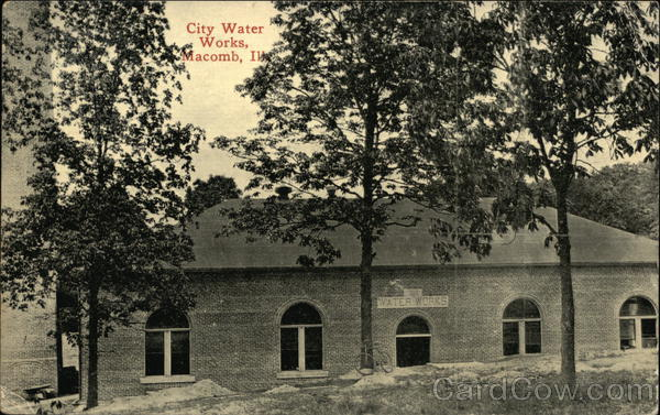 City Water Works Macomb Illinois