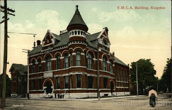 YMCA Building Kingtston New York