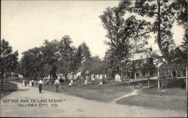 Cottage Row, Tri Lake Resort Columbia City Indiana
