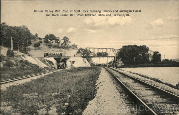 Illinois Valley Railroad at Split Rock Railroad (Scenic)