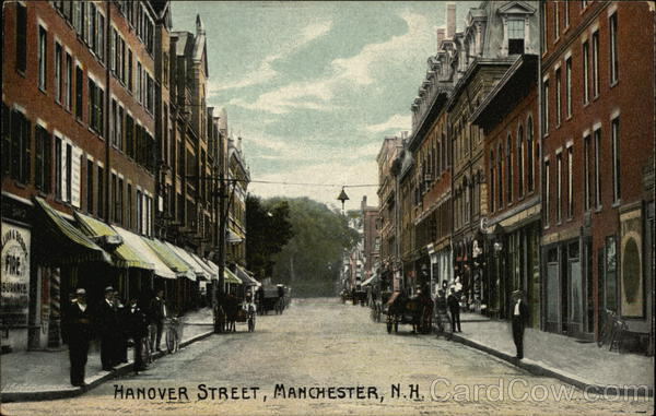 Hanover Street Manchester New Hampshire