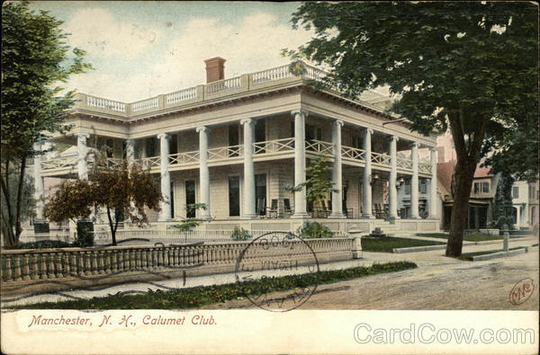 View of Calumet Club Manchester New Hampshire