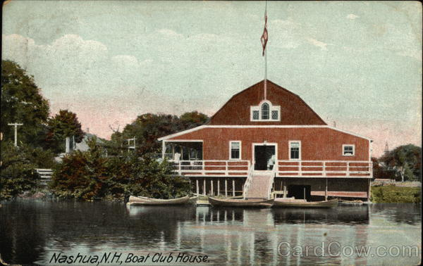 Boat Club House Nashua New Hampshire