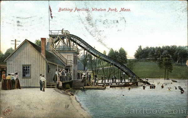 Bathing Pavilion, Whalom Park Lunenburg Massachusetts