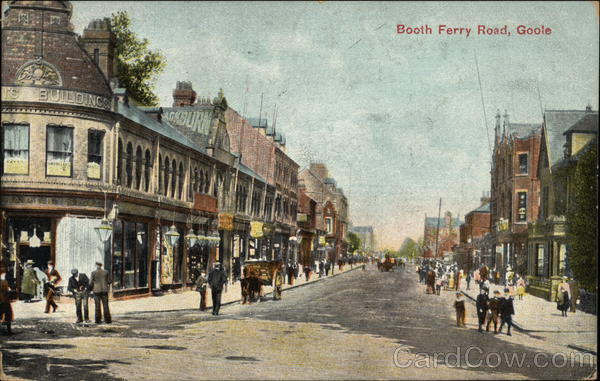 Booth Ferry Road Goole England Yorkshire