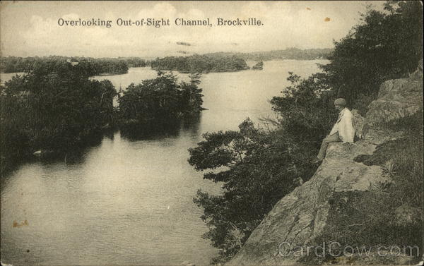 Overlooking Out-of-Sight Channel Brockville Canada