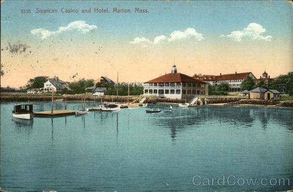 Sippican And Hotel Marion Ma Postcard