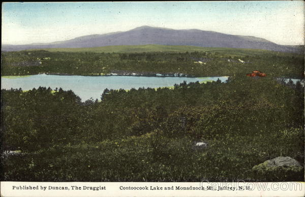 Contoocook Lake and Monadnock Mt. Jaffrey New Hampshire