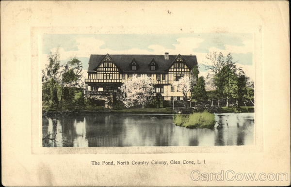 The Pond, North County Colony, Glen Cove Long Island New York