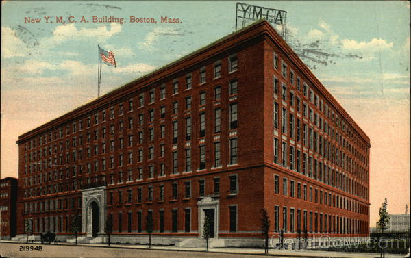 New Y.M.C.A. Building Boston Massachusetts