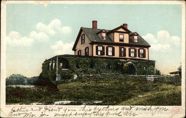 Celia Thaxters Cottage, Appledore Isles of Shoals New Hampshire