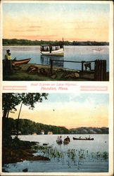 Boat Scenes on Lake Nipmuc
