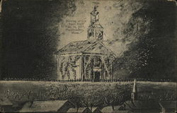 Burning of Old Town Hall, Feb. 16, 1877