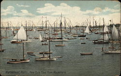 New York Fleet from Rockmere