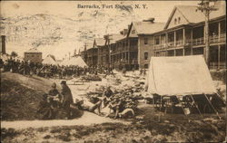 Barracks at Fort Slocum