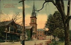 St. Patrick's Church and Main St.