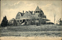 Home of Fanny Davenport Postcard