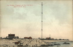 The Wireless Telegraph and Blue Fish Rock