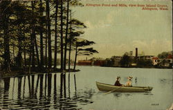 Abington Pond and Mills