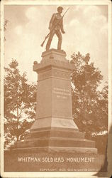 Whitman Soldiers Monument