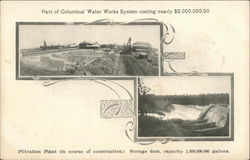 Part of Columbus' Water Works System