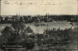 View Showing Ottawa and Fox Rivers