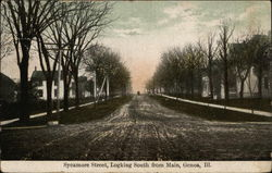 Sycamore Street, Looking South from Main